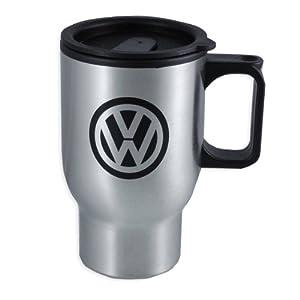 Amazon.com: Genuine Volkswagen On The Go Travel Mug - Iron: Automotive
