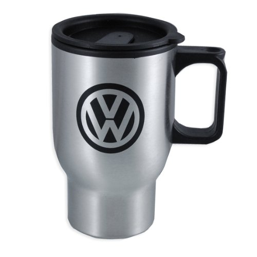 Genuine Volkswagen On The Go Travel Mug - Iron