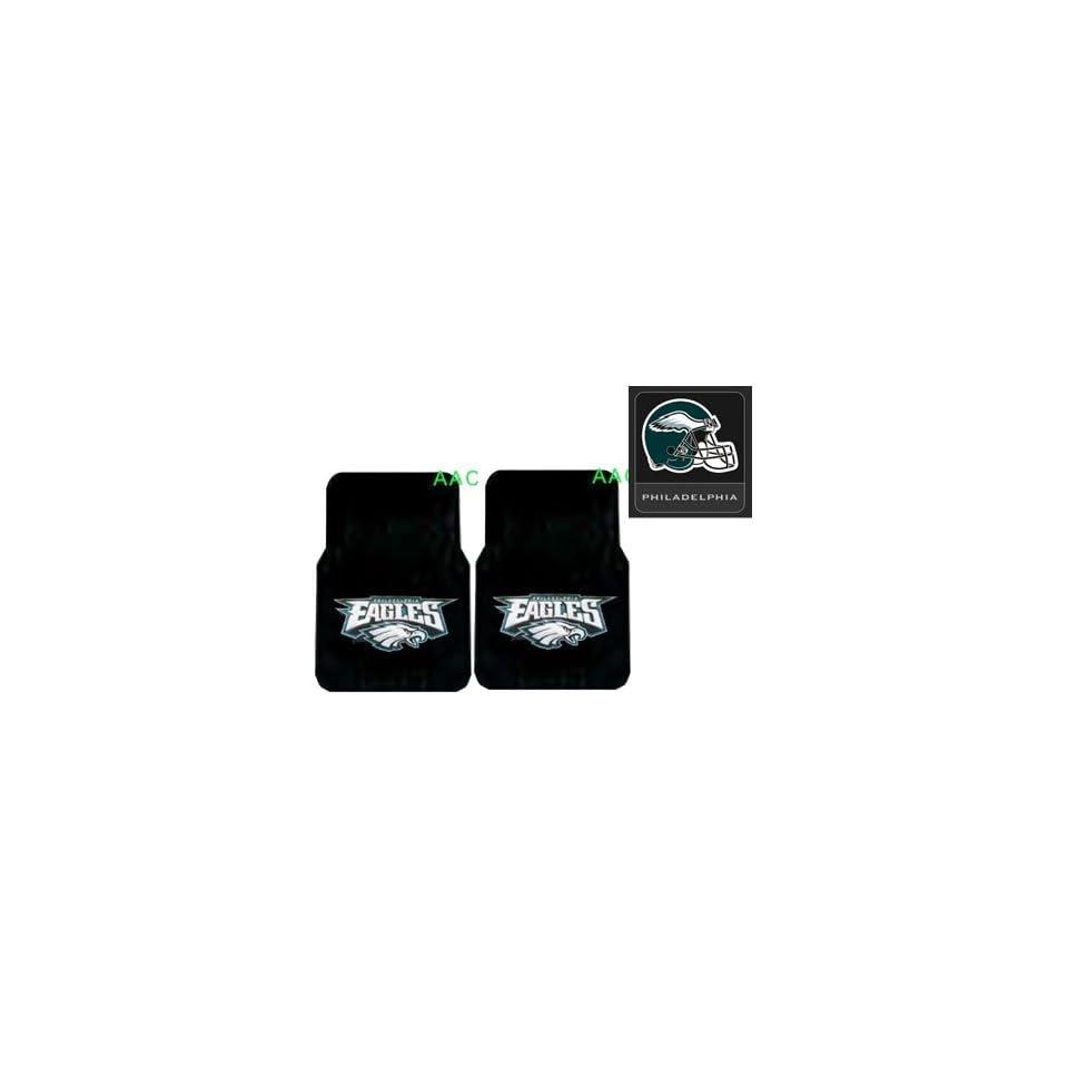 Philadelphia Eagles Automotive Interior Gift Set   A Set of 2 NFL
