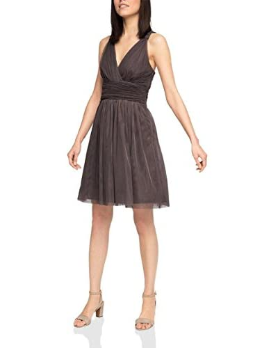 ESPRIT Collection Vestido Barro ES 44 (DE 42)