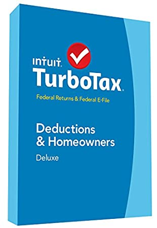 TurboTax Deluxe 2014 Fed + Fed Efile Tax Software + Refund Bonus Offer