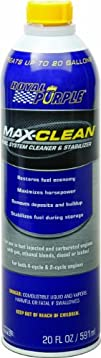 Royal Purple 11722 Max-Clean Fuel System Cleaner and Stabilizer