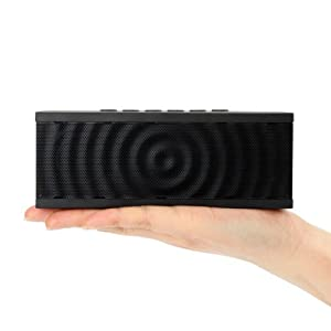 Bolse® 12W NFC Wireless Portable Bluetooth Speaker, 8 hour Playtime with Built-in Speakerphone for iPhone 6, 5S, 5, iPad Air, Mini, Samsung Galaxy S5, S4, HTC, Tablets, PC
