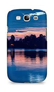 Amez designer printed 3d premium high quality back case cover for Samsung Galaxy S3 Neo (Night Sky Lake)