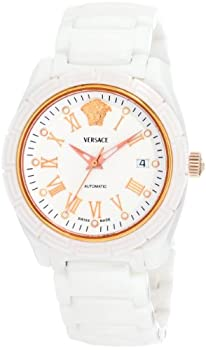 Versace Women's 01AC1D001 SC01 DV One Automatic Rose-Gold Plated Watch from Versace