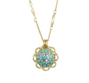 "Amazon.com: Mariana ""Cindy"" Gold Plated Swarovski Crystal Flower"