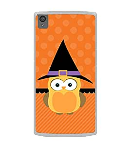 Cute Owl 2D Hard Polycarbonate Designer Back Case Cover for OnePlus X :: One Plus X :: One+X