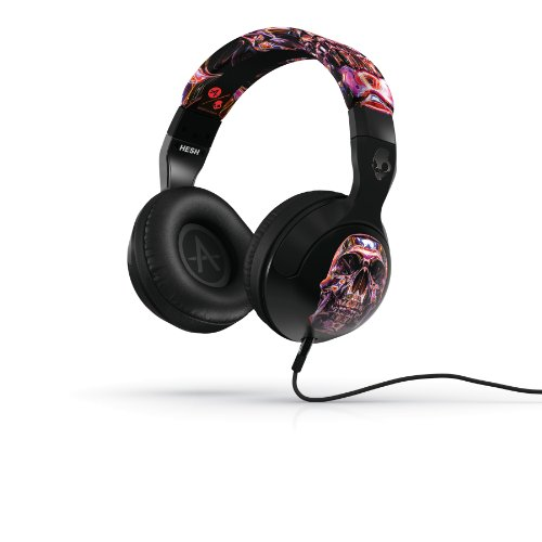 Skullcandy Hesh 2 Headphones W/Mic Galactica Luca Skull (2012 Color), One Size