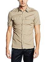 Belstaff Camisa Hombre Darton (Beige)