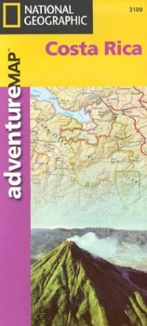 Costa Rica - Adventure Map (Adventure Maps)