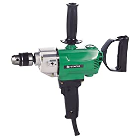 Hitachi D13 1/2-Inch 6.2 Amp Drill with Spade Handle