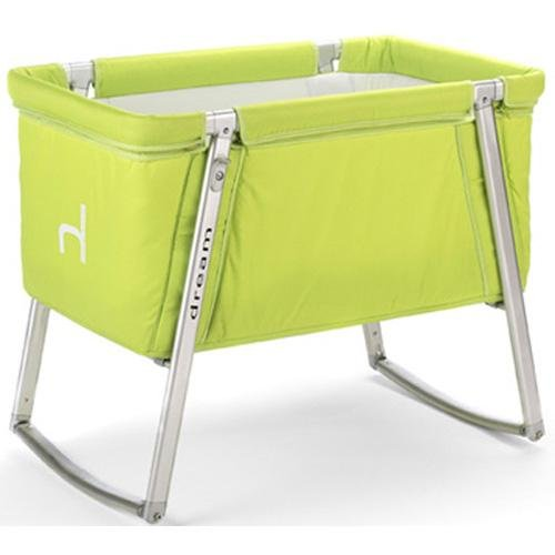 Baby Home Dream Portable Baby Crib - Lime