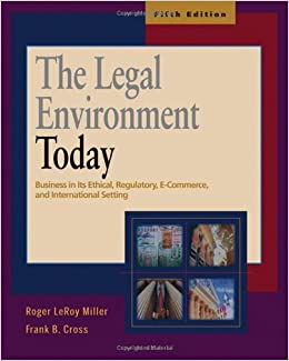 The Legal Environment of Business Paper