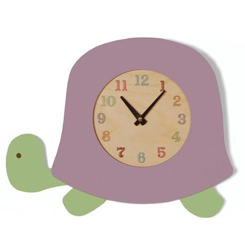Tree by Kerri Lee Turtle Clock, Lavender