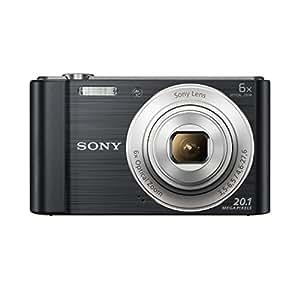 Sony DSCW810B.CE3 Appareil photo numérique compact 20,1 Mpix Zoom optique 6x Noir