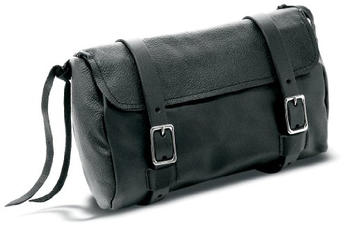 Carroll Leather 744 Black Tool Pouch with Gun Holster