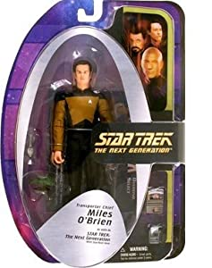 Diamond Select Toys Star Trek The Next Generation Series 5 Action Figure Transporter Chief Miles O'Brien