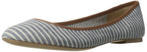 Splendid Women'S Nantucket Synthetic Ballet Flat,Navy,8.5 M Us front-1025795