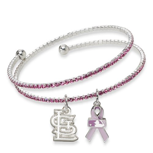 MLB St. Louis Cardinals 2013 Breast Cancer Awareness Support Bracelet at Amazon.com