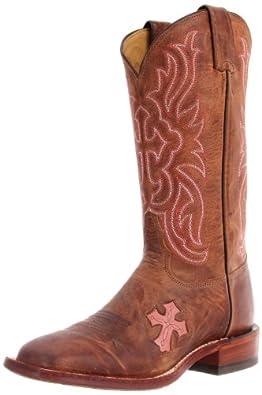 Beautiful Tony Lama Navajo San Saba Cross Western Boots For Women  Heshoes