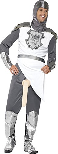 [Smiffy's Men's A Knight To Remember, Multi, Medium] (Adult Knight To Remember Costumes)