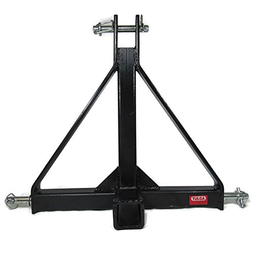 Lowest Price! 3 Point 2 Receiver Trailer Hitch Tow Cat 1 Drawbar Adapter for Compact Sub-Compact Tr...