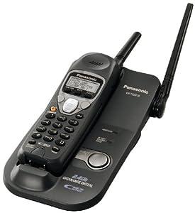 Panasonic KX TG2215B 24 GHz Digital Cordless Phone With Caller ID Telephones Electronics