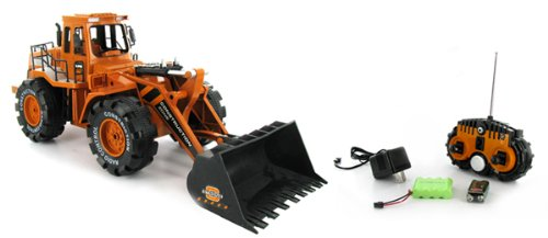 Construction Zone Front Wheel Loader 1:10 Electric RTR RC Vehicle