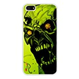 Oksobuy Commuter Series Case for Iphone 5 - Packaging -(Black Pc+pearlescent Aluminum) Skull Zombie Fashion Design...