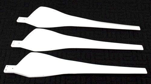 3 Blades For Aleko Wg700 700W Wind Turbine Wind Generator
