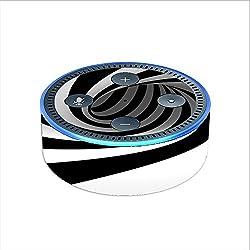 Skin Decal Vinyl Wrap for Amazon Echo Dot 2 (2nd generation) / Swirl, Vortex