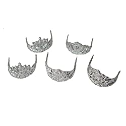 Generic 5pcs Mix Pattern Crown for Doll Dolls Random Style
