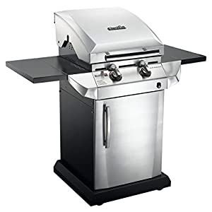 Char-Broil TRU Infrared Urban Gas Grill with Folding Side Shelves