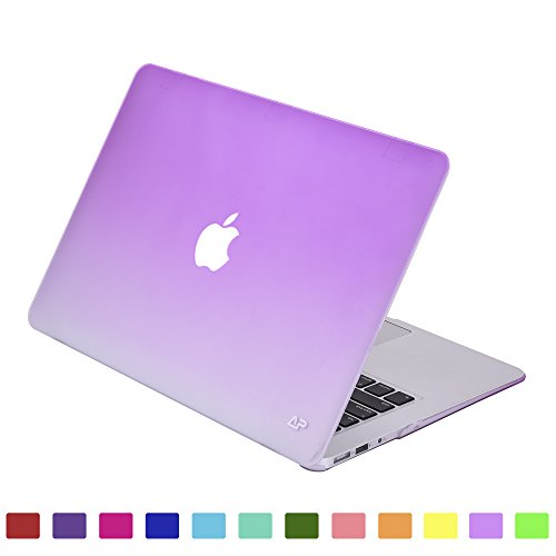 Lightning Power - Fade to White Matte Carrying Hard Shell Case for Macbook Air 13.3