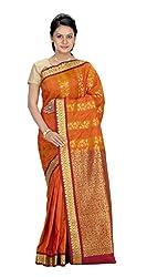 Srinidhi Silks Gold Silk Sari (Ssi New 0925)
