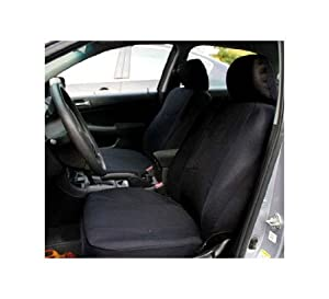 FH-FB050102 Flat Cloth Bucket Car Seat Covers by FH