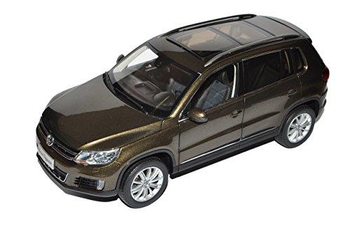 VW-Volkswagen-Tiguan-Braun-Schwarz-SUV-Modell-ab-2007-Ab-Facelift-2011-118-PAudi-Modell-Auto-mit-individiuellem-Wunschkennzeichen