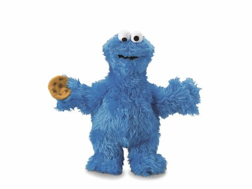 Fisher-Price Sesame Street Classic Plush Cookie (Cookie Monster Fisher Price compare prices)