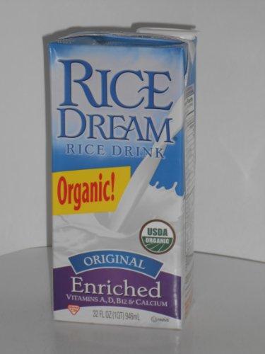 Rice Dream Rice Milk Organic (Pack of 6)