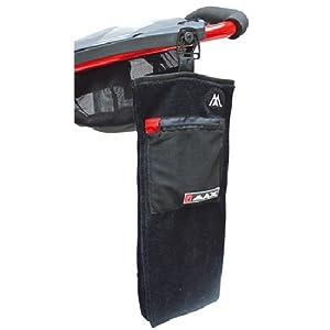 Big Max Golf Accessory Towel, Black