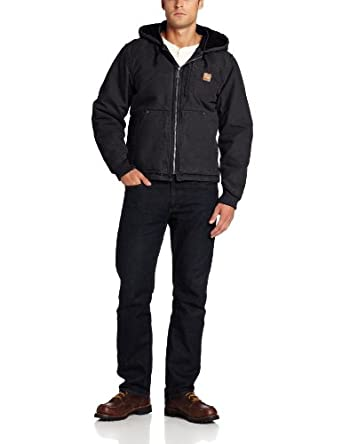Carhartt Men's Chapman Sandstone Jacket at Amazon Men's Clothing