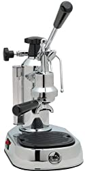 La Pavoni EPC-8 Europiccola 8-Cup Lever Style Espresso Machine, Chrome by La Pavoni
