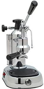 La Pavoni EPC-8 Europiccola 8-Cup Lever Style Espresso Machine, Chrome from La Pavoni