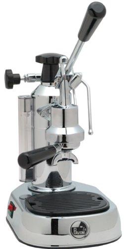 La Pavoni EPC-8 Europiccola 8-Cup Lever Style Espresso Machine, Chrome