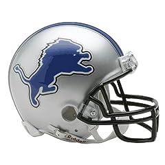 NFL Detroit Lions Replica Mini Football Helmet by Riddell