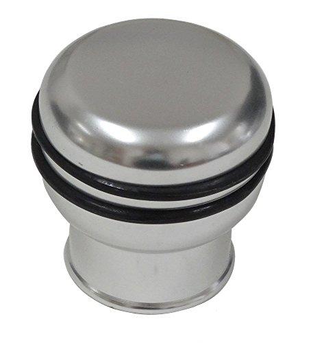 Schaltknauf Spezielle Ring Umgekehrter Metall - Alu - Chrom