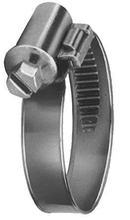 Precision Brand Smooth Band Metric Worm Gear Hose Clamp