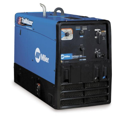 Miller Trailblazer 302 Engine Driven Welder / Generator, Gas, 1- Phase, 30 - 225 AC, 10 - 325 DC Type: (KOHLER)
