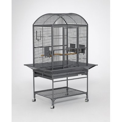 midwest-homes-for-pets-chiquita-bird-cage-platinum-dometop