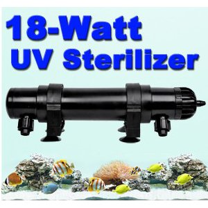 Easy Operation 18 Watt Aquarium Pond Fish Tank Uv Sterilizer Internal Light Lamp Plant Grass Coral Reef Grow Growing